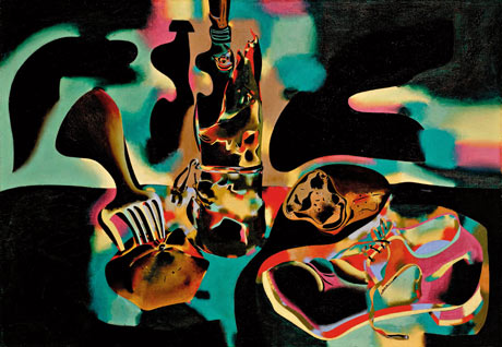 旧鞋静物画Still Life with Old Shoe, 1937, Joan Miró. 摄影: SuccessióMiró/ADAGP, Paris and DACS, London 2011/Tate Modern