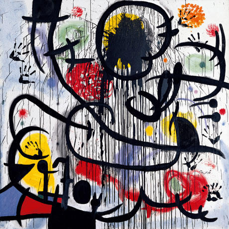 1968年的五月May 1968, 1968, Joan Miró. 摄影: SuccessióMiró/ADAGP, Paris and DACS, London 2011/Tate Modern