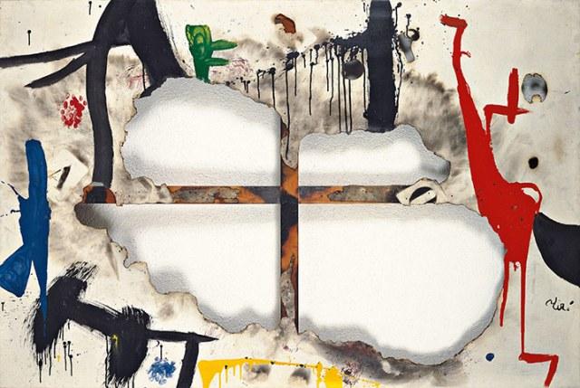 燃烧的画布之一Burnt Canvas I, 1973