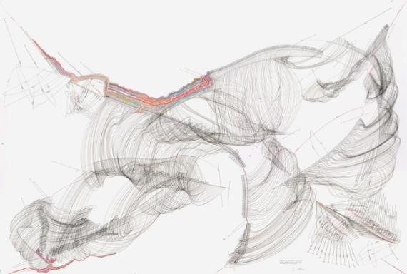 Jorinde Voigt, Galerie Christian Lethert (Art Futures section) (photo courtesy of Galerie Christian Lethert)