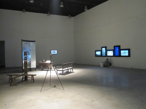 郑云瀚Zheng Yunhan_普洱咖啡Poor Coffee_装置Installation_2011