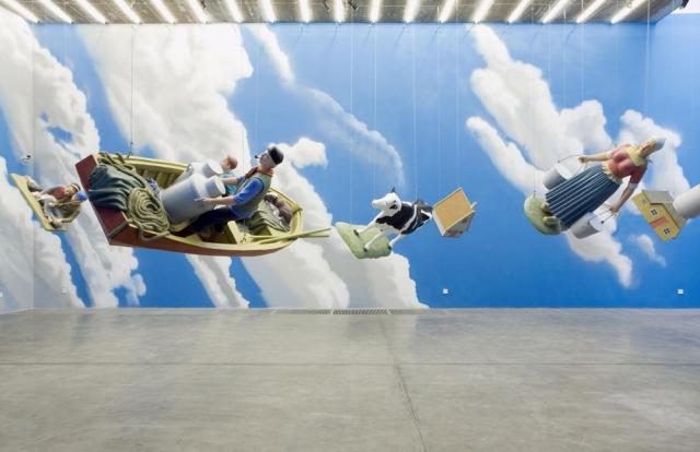 隋建国Sui Jianguo_倾斜的天堂The Slant Paradise 2008