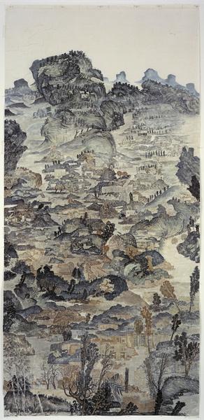 季云飞 水下143米 2006 美国伍斯特美术馆藏