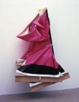 Angela de la Cruz 超大号超级杂乱,粉色与棕色Super Clutter XXL, Pink and Brown (2006)