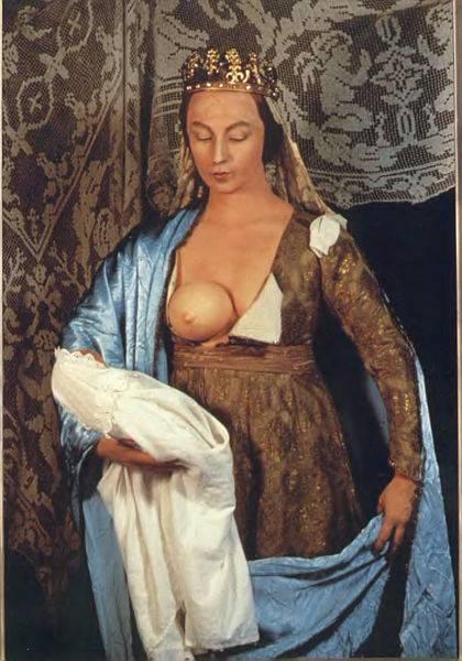 Fouquet_Madonna Sherman History Portraits,1988-1990