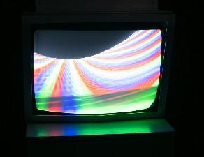 白南准 磁铁电视 装置 1963 供图:韩国现当代美术馆